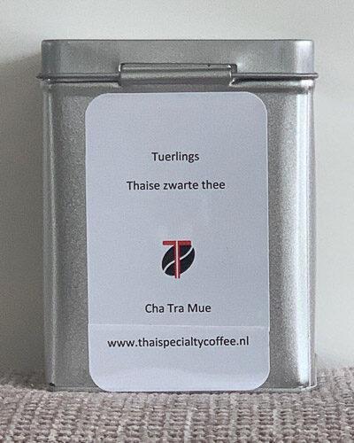 Cha Tra Mue zwarte thee in blik