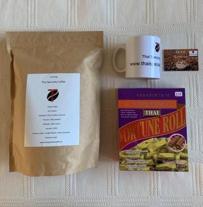 Kadopakket Sun Jaroen Thai Specialty Coffee 1 kg