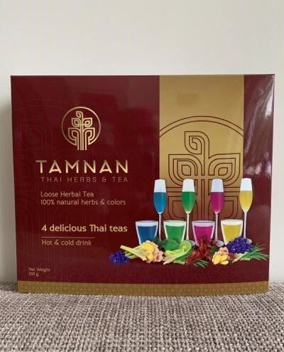 Tamnan Herbs & tea, 4 soorten