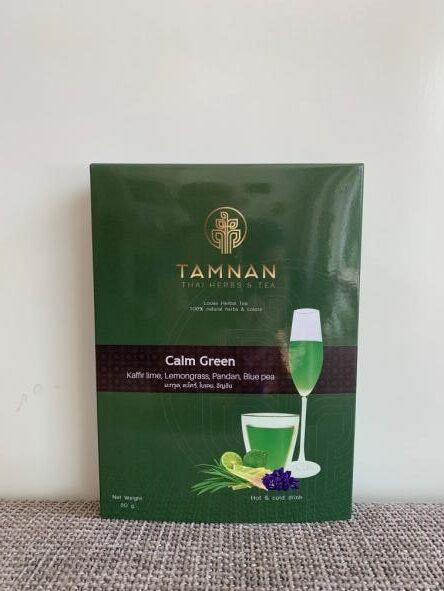 Tamnan Herbs & tea, Calm Green 50 gram