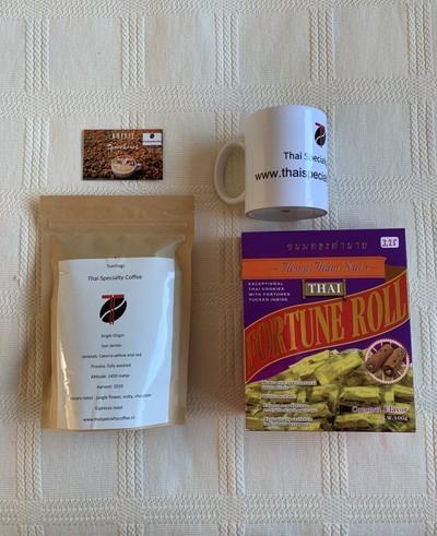 cadeau pakket Sun Jaroen coffee 250 gram