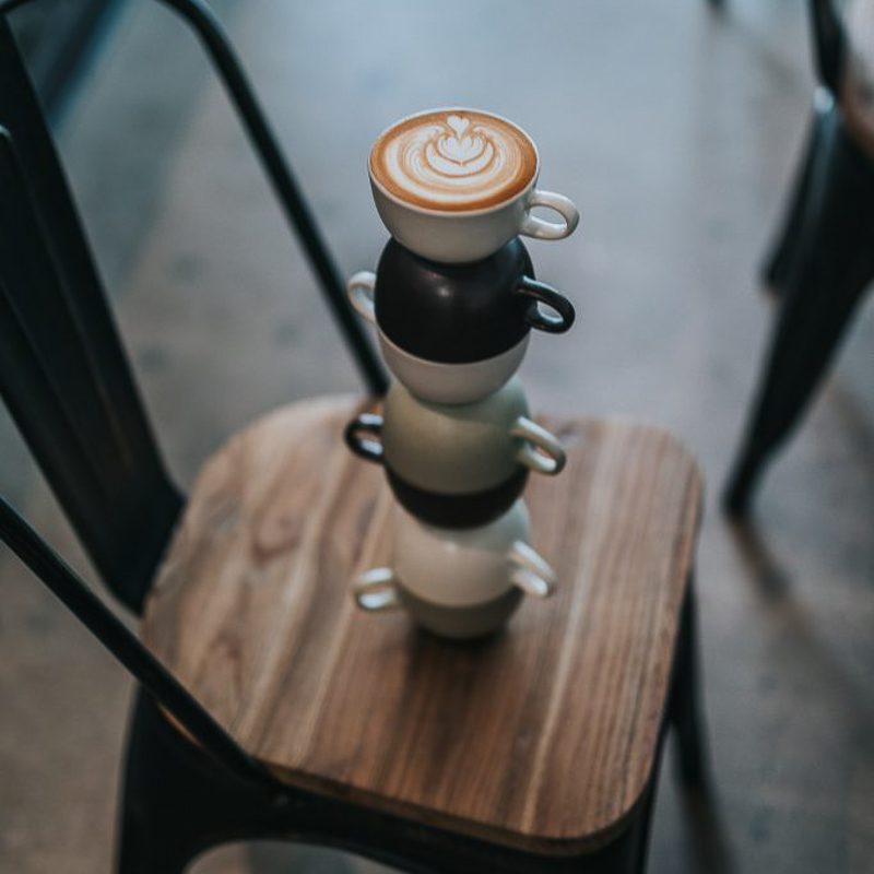 Mooi koffieschuim